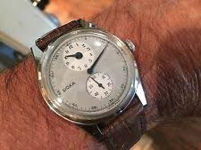 mens antique watches vintage doxa winding doctors swiss mens watch old used e886 antique