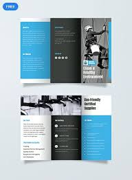 Cleaning Brochure Free Cleaning Brochure Brochure Templates Design 2019