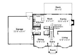 colonial house plan westport 10 155 1st floor plan