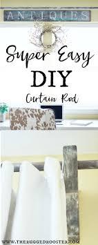 Diy Curtain Rods Best 25 Beach Style Curtain Rods Ideas On Pinterest Coastal