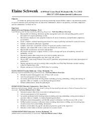 Histology Assistant Sample Resume