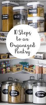 Organized Kitchen 17 Best Ideas About Kitchen Organization On Pinterest Kitchen