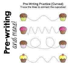 Writing Patterns Enchanting Cupcake Preschool Pack Prewriting Counting Patterns Sorting