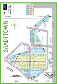 high resolution map of saadi town