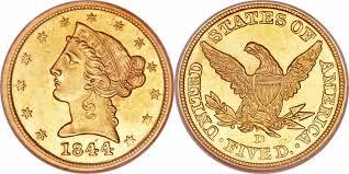 Coronet Head Gold 5 Half Eagle Price Charts Coin Values