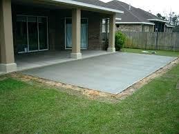 patio patio cement ideas backyard patios cost concrete paint colors
