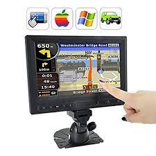 BW® <b>8</b> Inch LCD <b>Touchscreen</b> Monitor with AV/VGA/<b>HDMI</b> port-Black