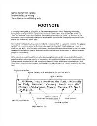 essay footnotes essay