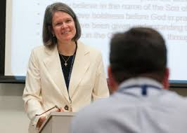 the Rev. Dr. Amy Richter, New Testament | Saint Mary's Seminary ...