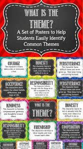 best images about theme graphic organizers teaching and reinforcing theme in literature is easy this poster set the set has