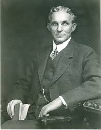 Portrait of Henry Ford. | Henry ford, Ford, Role models