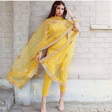 Handmade Punjabi Suit Design Indian Salwar Kameez Pant Punjabi Suit Designer Party Wear