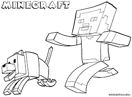 Minecraft Coloring Pages For Free Jokingartcom Minecraft Coloring