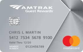 Amtrak Guest Rewards Redemption Chart Boa Amtrak Guest Rewards Platinum Credit Card Review 2017 2