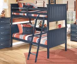 leo bunk bed twin size by ashley furniture b103 ashley leo twin bedroom set