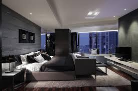 Grey Wall Master Bedroom Luxurious Design
