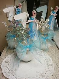 ... Stunning Ideas Frozen Table Centerpieces Best 25 On Pinterest Theme ...
