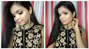 indian wedding guest makeup tutorial easy party makeup tutorial beauty tips jui
