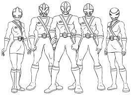 Power Ranger Printable Coloring Pages Coloring Page Power Rangers