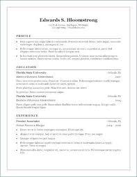 Microsoft Word 2007 Resume Templates Impressive Ms Word Resume Format 48 Resume Format For Freshers Teacher In Ms