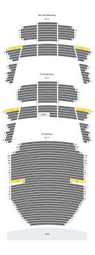 Bass Concert Hall Austin Seating Chart With Numbers Seating Maps Texas Performing Arts The University Of