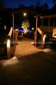 custom landscape lighting ideas. custom cedar arbor u0026 walkway designed by willow gates landscaping landscape lighting ideas t