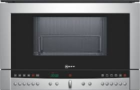 neff c54r70n3gb 60cm wide microwave oven for wall cupboards stainless steel