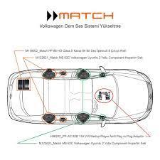 Match Volkswagen Play in Plug Hi-Fi Ses Sistem Paketi