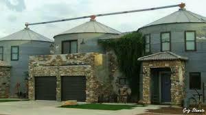 Grain Bin Home Houses Made From Grain Bins Converted Silos Youtube