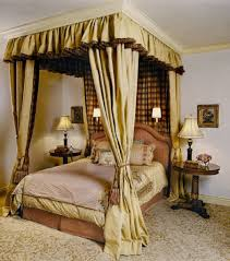 Ideas Curtains for Canopy Bed