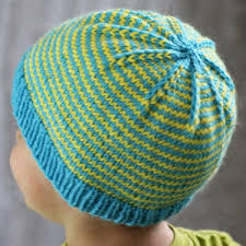 Child Knit Hat Pattern New Sunny Stripes Hat AllFreeKnitting