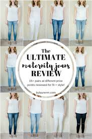 Ultimate Maternity Jeans Review By Lauren M