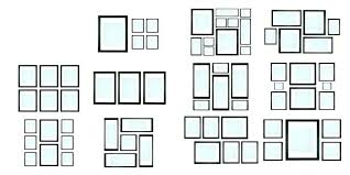 wall frame collage large frames appealing photo how picture template