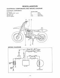 miscellaneous electrical components and wiring diagram electrical miscellaneous electrical components and wiring diagram electrical components yamaha pw80 user manual page 49 64