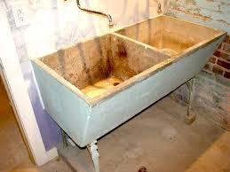 damaged concrete sink repair