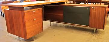 mid century office furniture. George Nelson Executive Desk For Herman Miller Mid Century Office Furniture