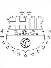 Barcelona Sporting Club Coloring Page