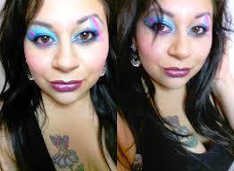 cyndi lauper inspired 80 s makeup