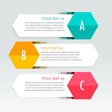 Three Steps Colorful Infographics Template Download Free Vector