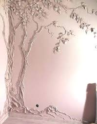 plaster wall art fleurs blanches triptych plaster wall decor