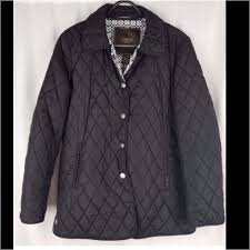 Signature Black Quilted Jacket | Quilted jacket, Black quilt and ... & Signature Black Quilted Jacket Adamdwight.com