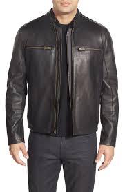 harmond men classic leather jackets