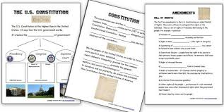 our american history geography activities various bies  us constitution worksheets