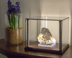 Lighted Display Stand For Glass Art Greenstone Lighted Display Cases for Minerals Art Curios 50