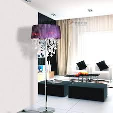 chandelier floor lamp home lighting. Fashion Home Hotel Chandelier Crystal Floor Lamp Modern Decorative Standing Lamp-in Lamps From Lights Lighting E
