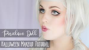 porcelain doll halloween makeup tutorial rebecca ss mua