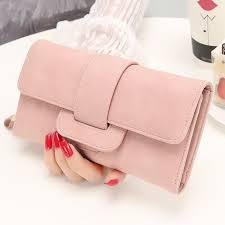 <b>2019 Fashion Wallet Women's</b> Purse Wallet Card Holder Female ...