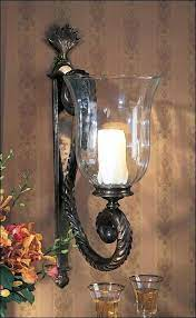 extra large wall sconces for candles
