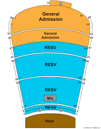 Red Rocks Amphitheatre Seating Chart All Reserved Red Rocks Amphitheatre Morrison Co Seating Chart View