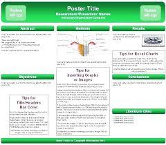 Powerpoint Poster Presentation Scientific Poster Presentation Template